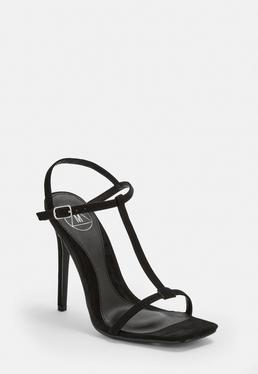 79e4e17edea75 ... Black T Bar Barely There Heels. Was €34.00
