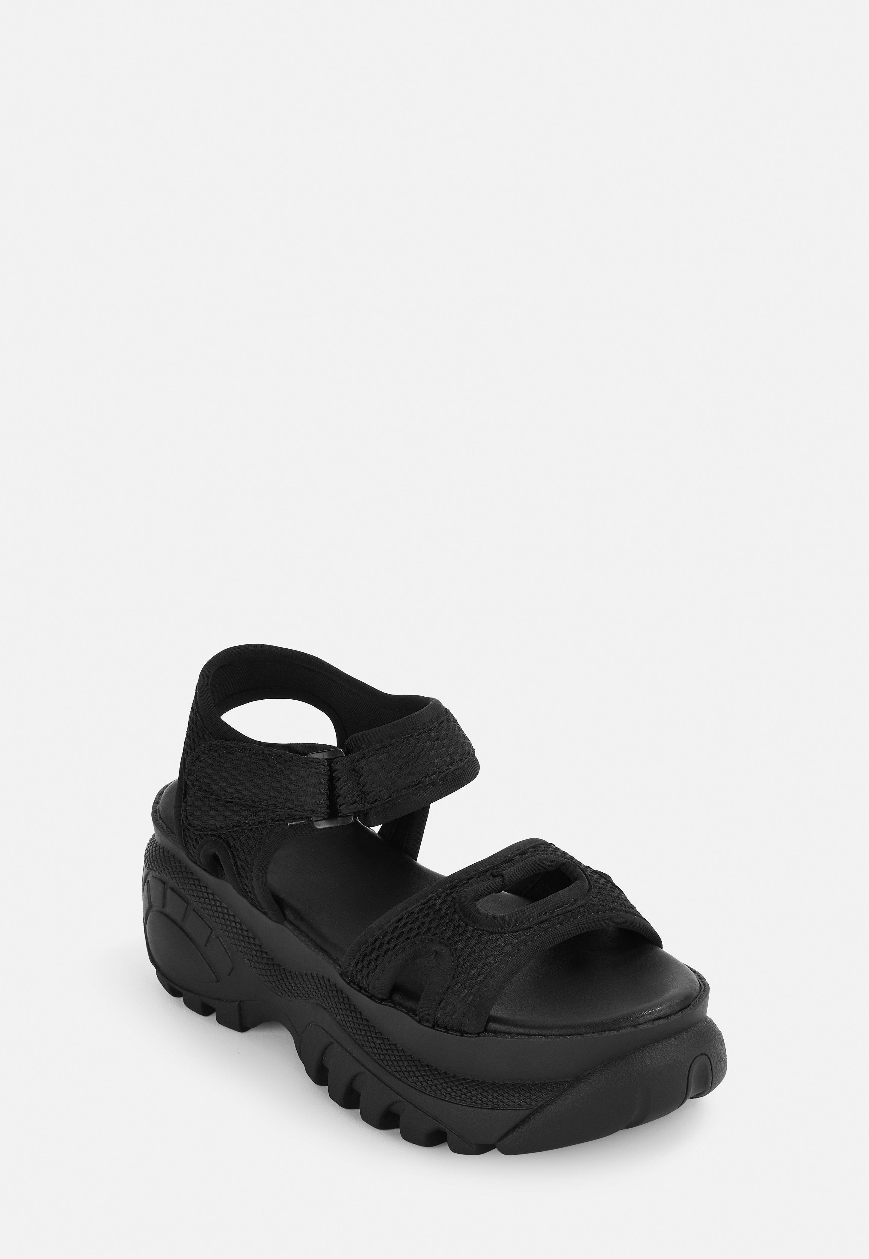 Sole Trainer Sandals Black Black Chunky Chunky kX8N0OnwP