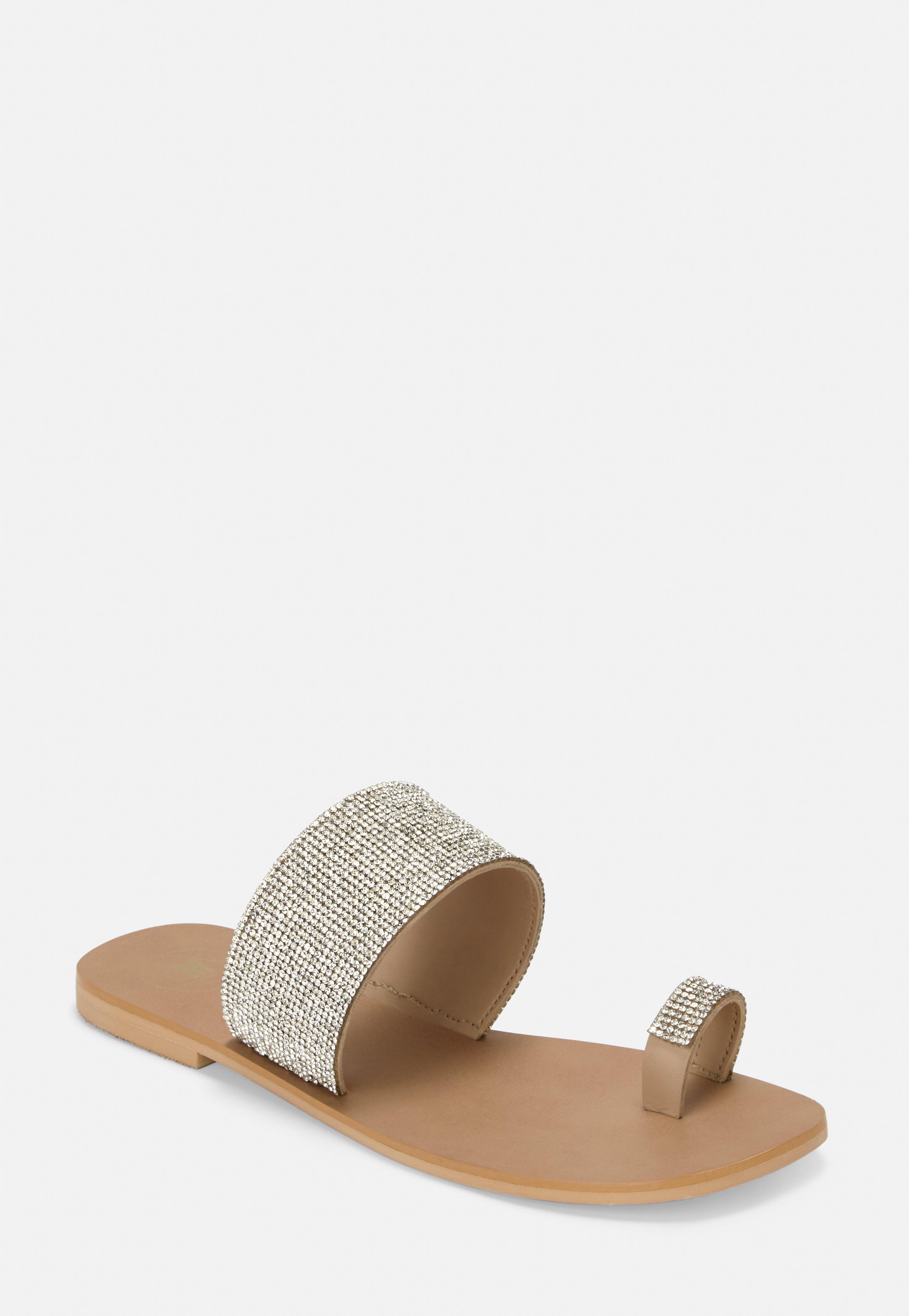0e28b81a1a11 Women's Flat Sandals | Missguided