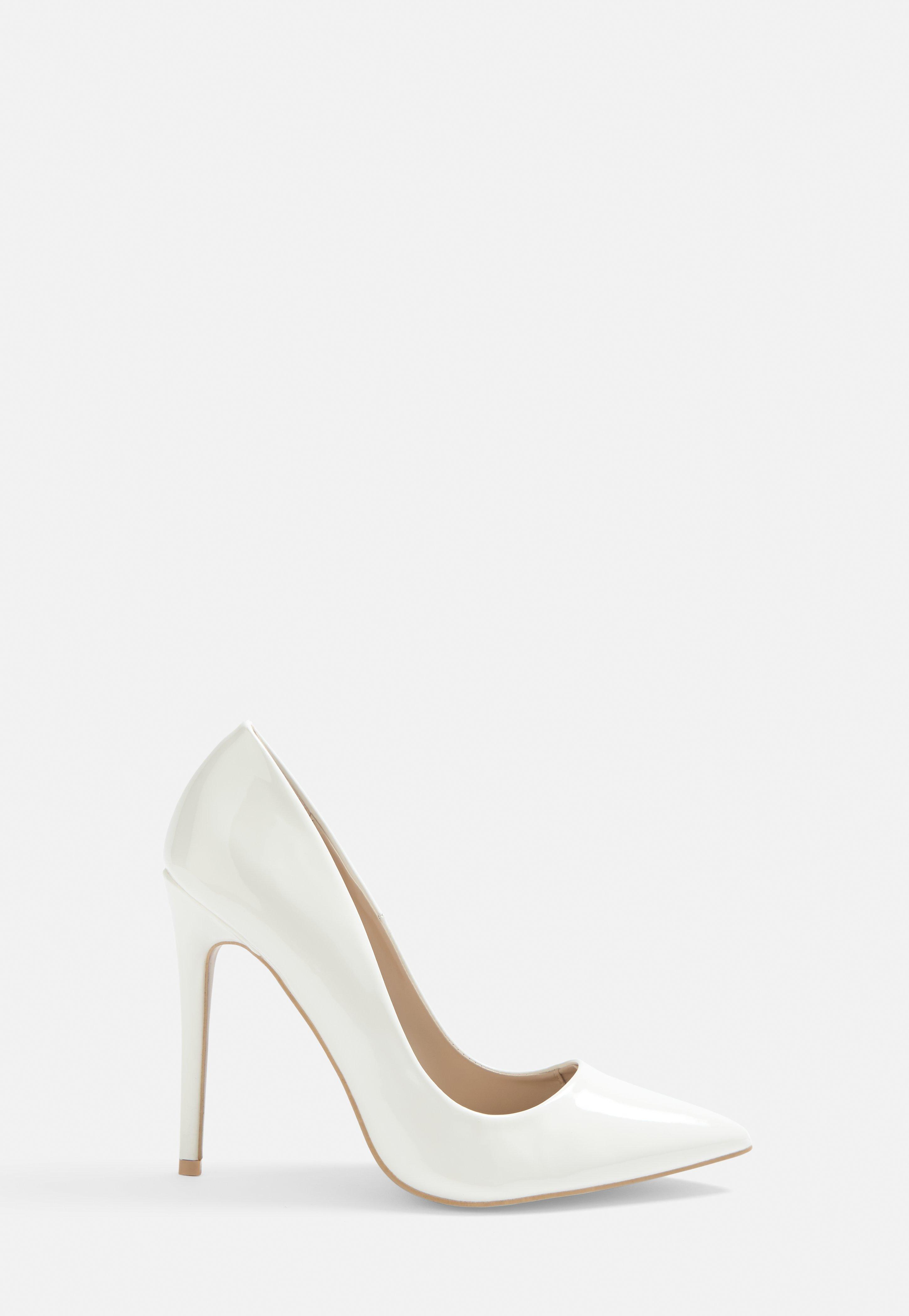 3361eb6b94e White Patent Pumps