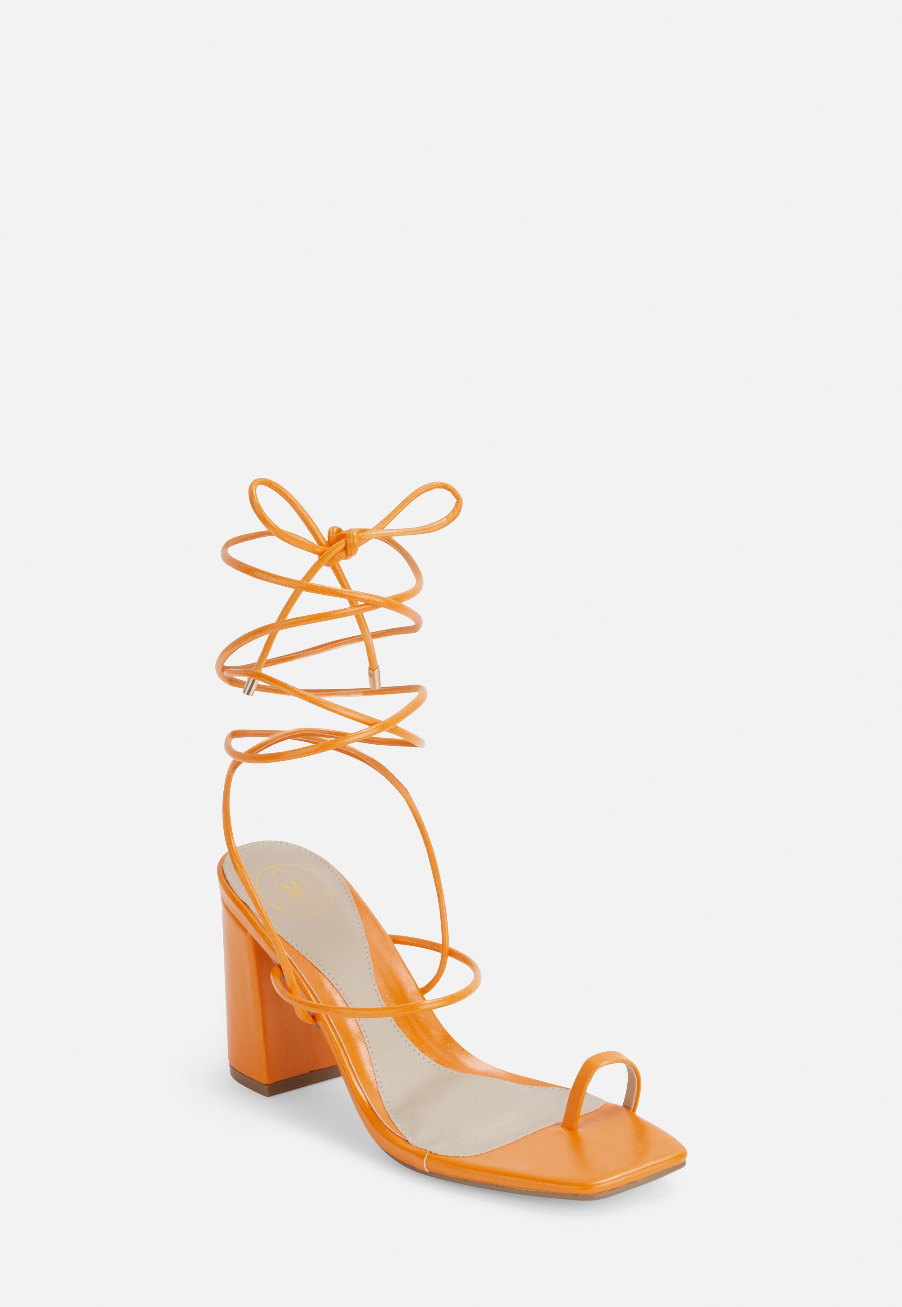 1384924e7a8d97 Lace Up Heels | Missguided