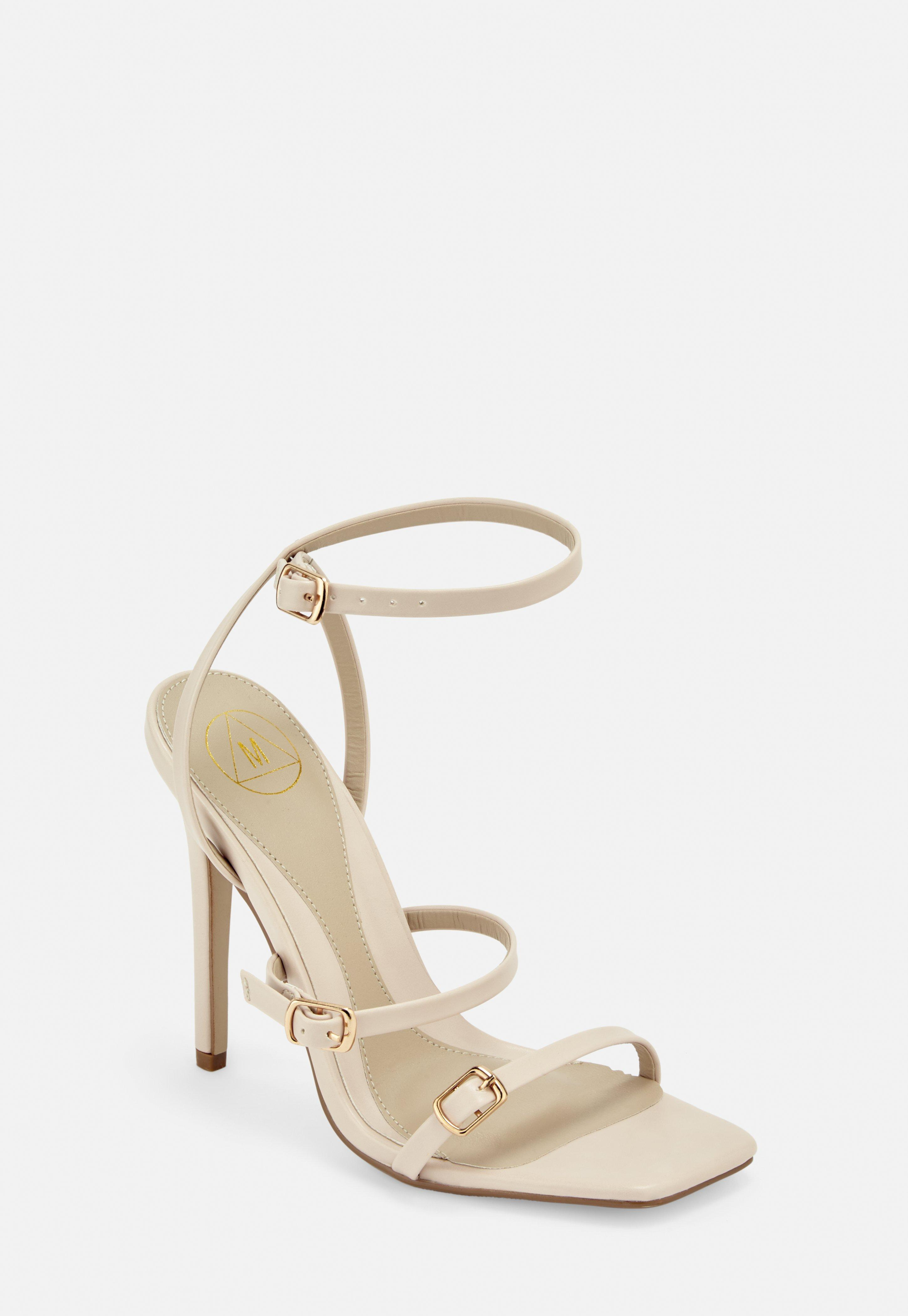 2d9c2d410d5c Heeled Sandals | Strappy & Barely There Heels - Missguided