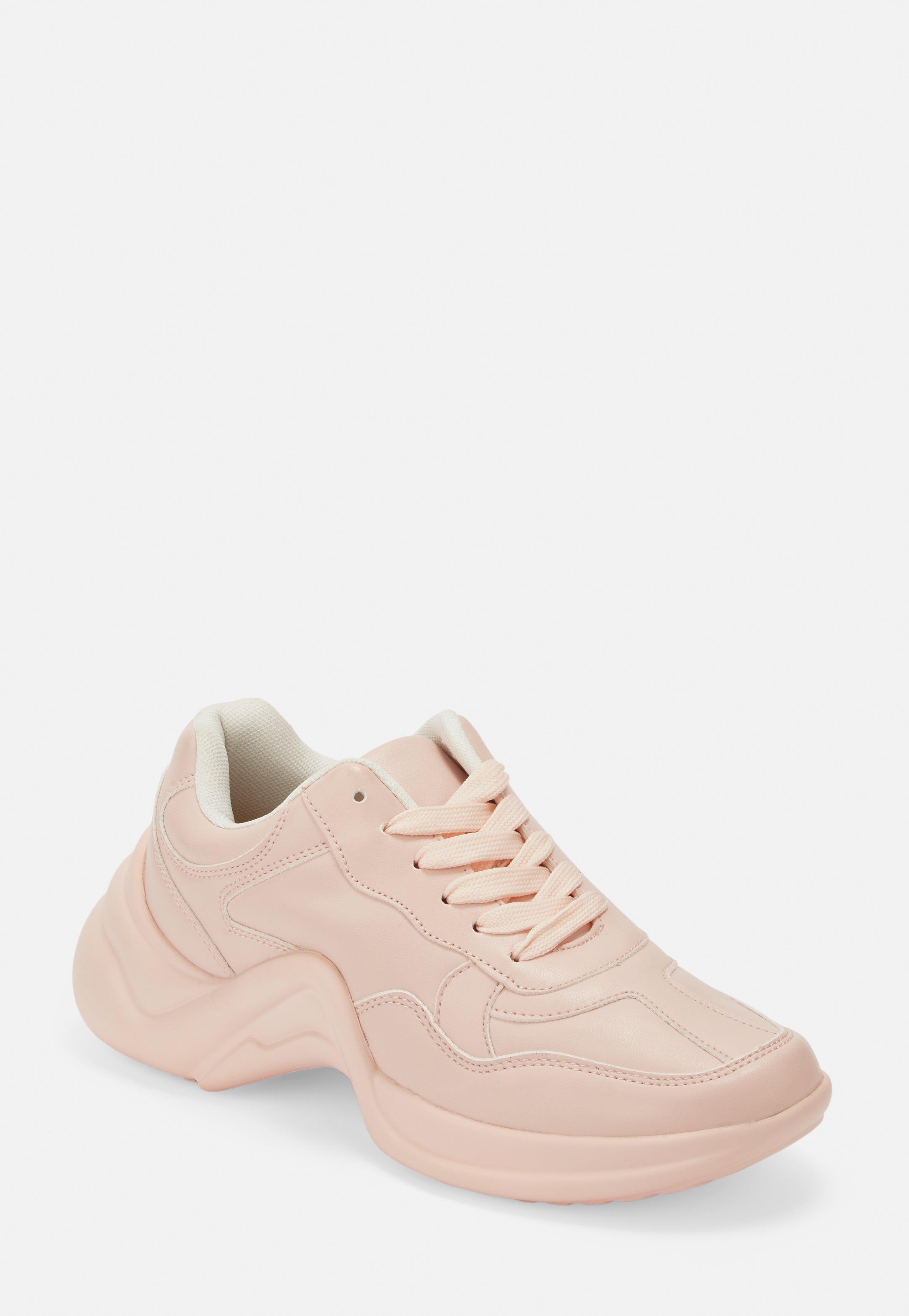 cheaper ba354 414b7 Sneaker mit dicker Sohle in Pink