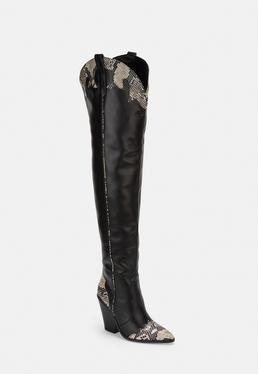 cdb5b78c9 Boots Online | Women's Grey & Black Boots - Missguided
