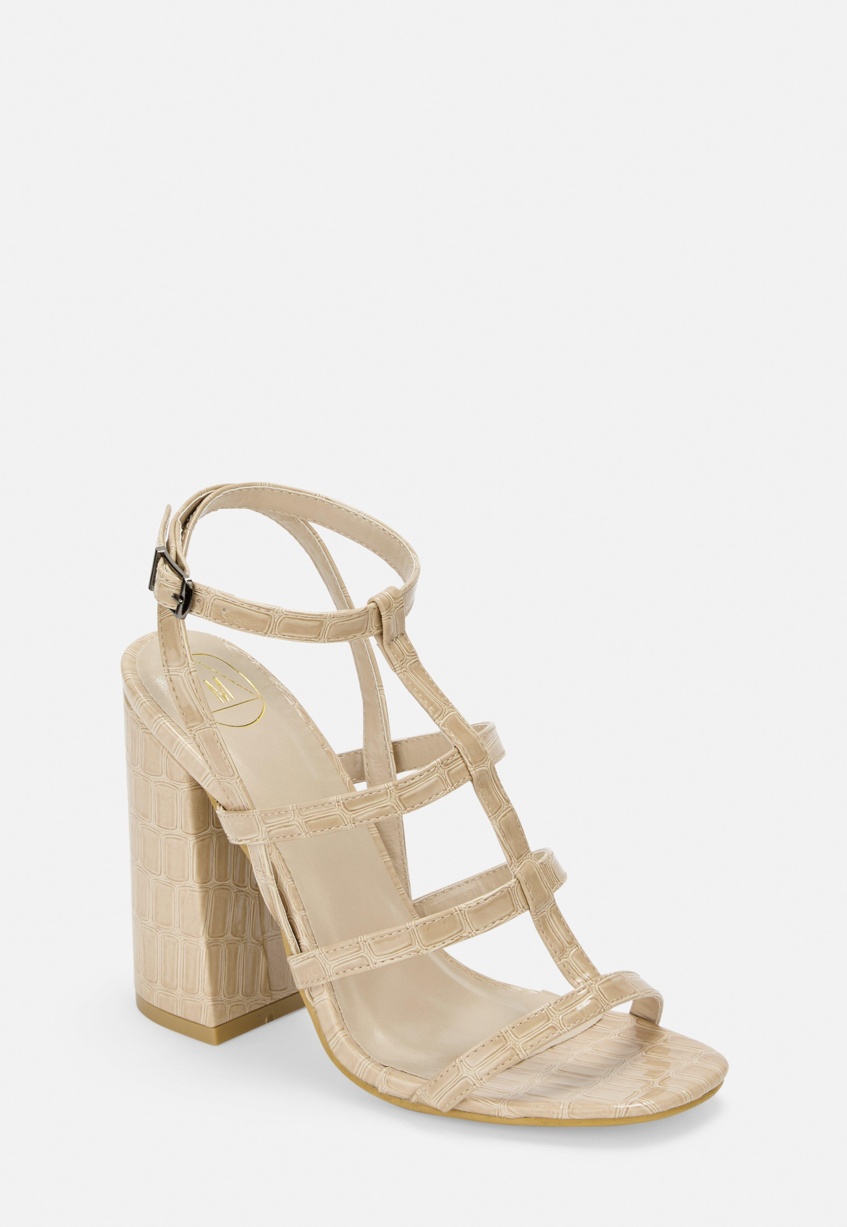 ab0421fb50 Heeled Sandals | Strappy & Barely There Heels - Missguided