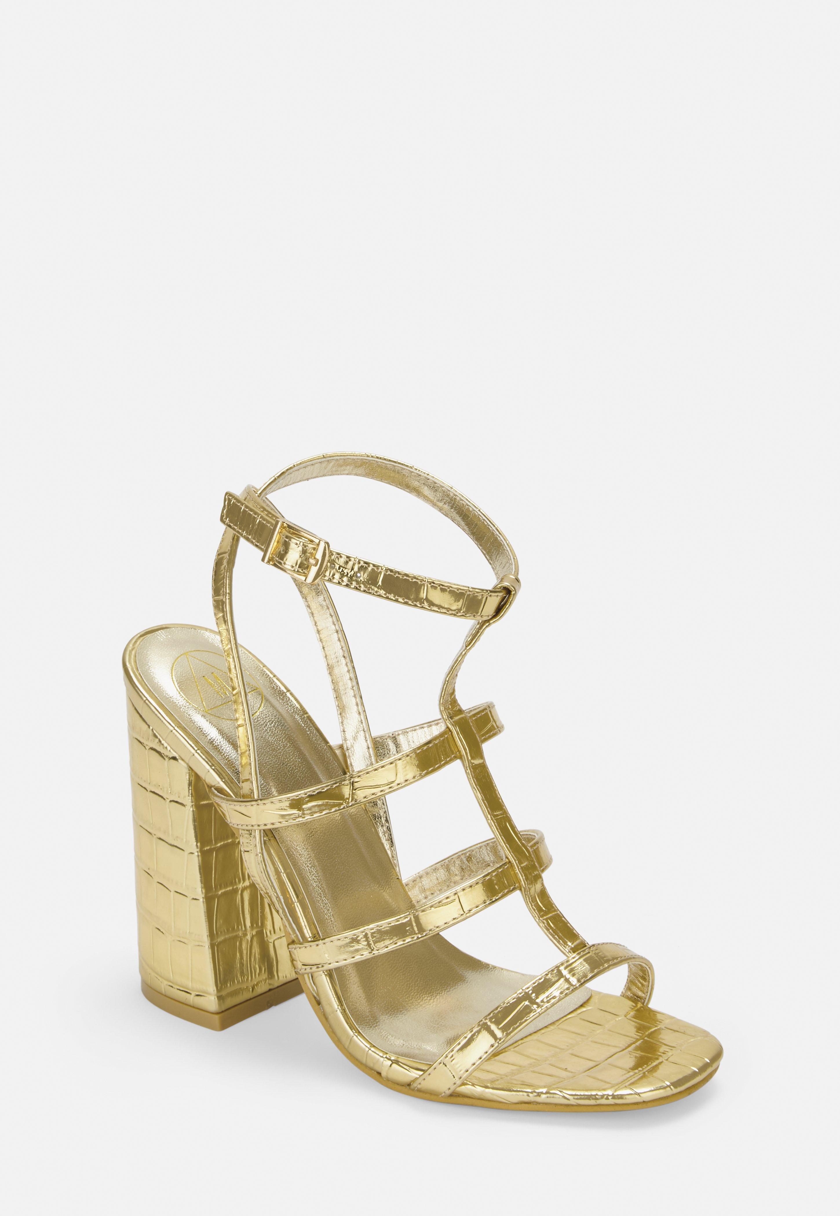 7b2b2fd5c6 Heeled Sandals, Strappy + Barely There Sandals - Missguided