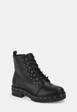 e663ab8c7d9 Black Kitten Heel Knitted Sock Boots