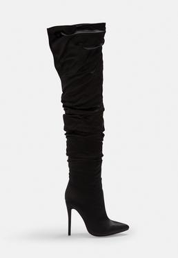 6471ef5f5ee Boots Online | Women's Grey & Black Boots - Missguided