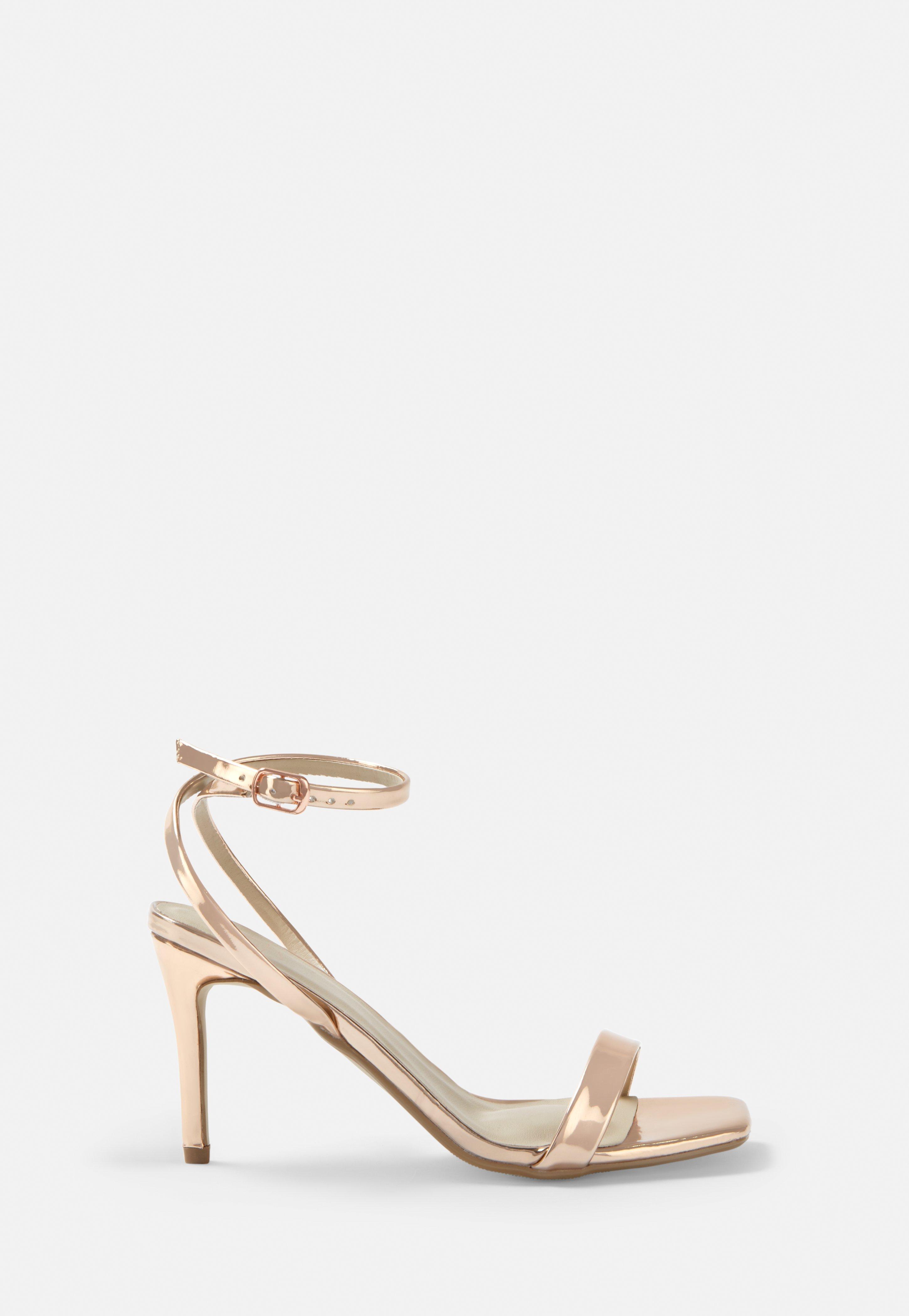 Gold Low Heels