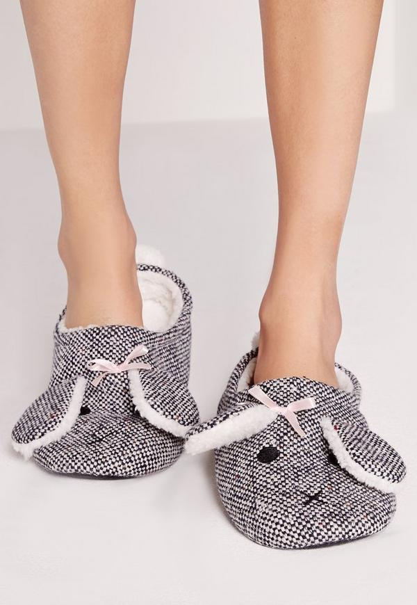 Bunny Slippers Grey