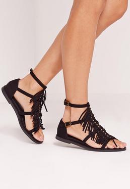 sandalen kaufe sandalen sandaletten online missguided de. Black Bedroom Furniture Sets. Home Design Ideas