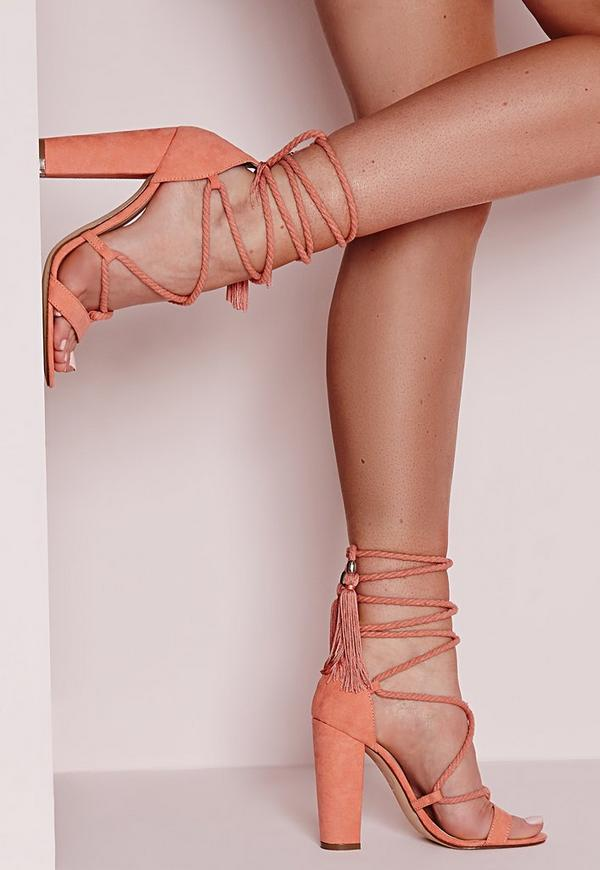 String Shoes Heels