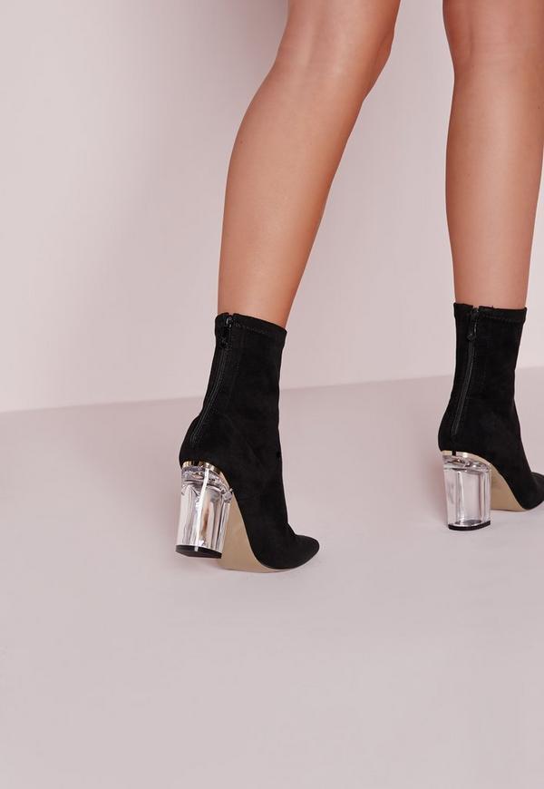 chaussure talon transparent. Black Bedroom Furniture Sets. Home Design Ideas