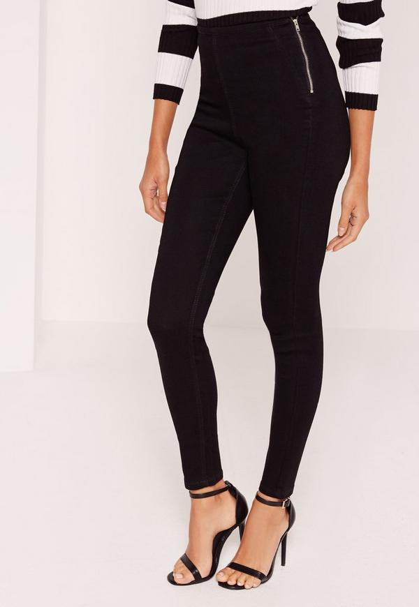Soho Jeans - Petite Pull-On High-Waist Legging is rated out of 5 by Rated 5 out of 5 by Aysha46 from Most comfortable and high end look. This not only legging, it's kinda pant material too, so I can wear it at work with tunics.