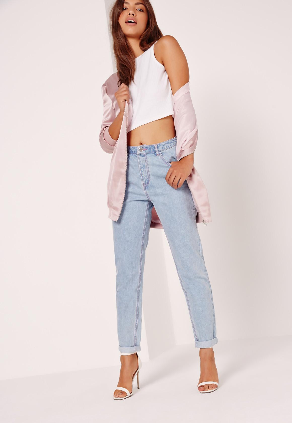Best Wholesale Sale Online Clearance Classic Missguided Riot High Rise Mom Jeans lY9ZgsotJ