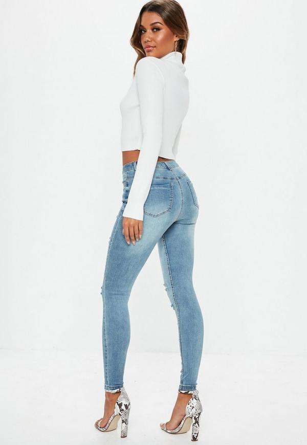 Shop womens high waisted jeans cheap sale online, you can buy black high waisted jeans, high waisted skinny jeans, high waisted ripped jeans, high waisted jean shorts for women and more at wholesale prices on cheswick-stand.tk FREE .