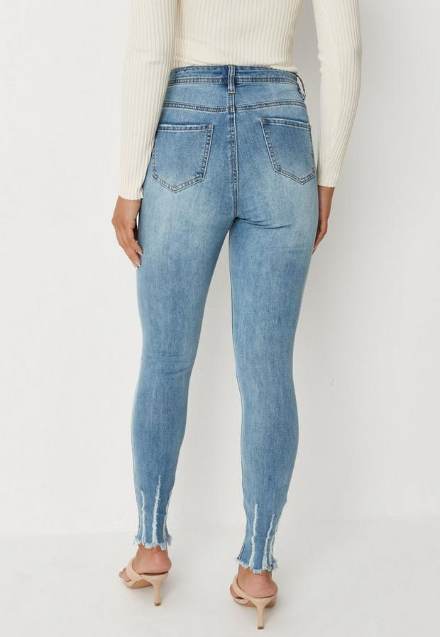 Missguided - Authentic Rip Skinny Wash - 4