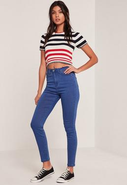 Rebel – Supersofte Skinny-Jeans mit Superstretch in Blau