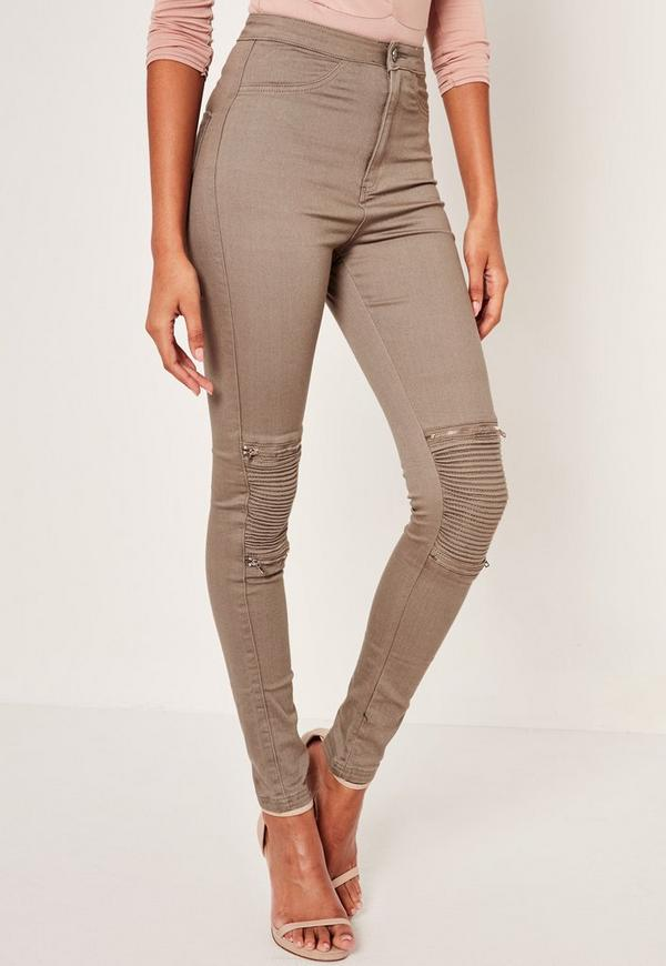 """Most Fashion Nova jeans & dresses have great stretch, please refer to product description for fabric details. Most Fashion Nova bottoms have an inseam of """" depending on the cut and style. Sizing may vary depending on cut and style."""