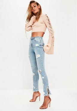 Ripped Jeans | Ripped Knee & Distressed Jeans - Missguided