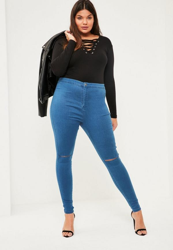 9, results for high waisted plus size jeans Save high waisted plus size jeans to get e-mail alerts and updates on your eBay Feed. Unfollow high waisted plus size jeans to .