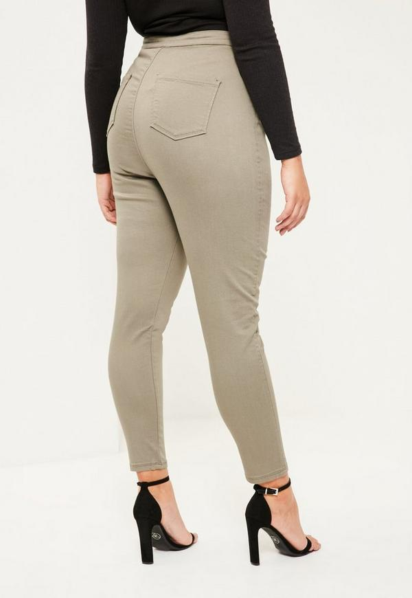 Buy the latest khaki plus size pants cheap shop fashion style with free shipping, and check out our daily updated new arrival khaki plus size pants at puraconga.ml Plus Size Buckle Strap Cargo Pants - KHAKI - USD 4 Colors. Style: Fashion Pant Style: Cargo Pants High Waist Plus Size Flower Embroidered Skinny Jeans. USD USD.