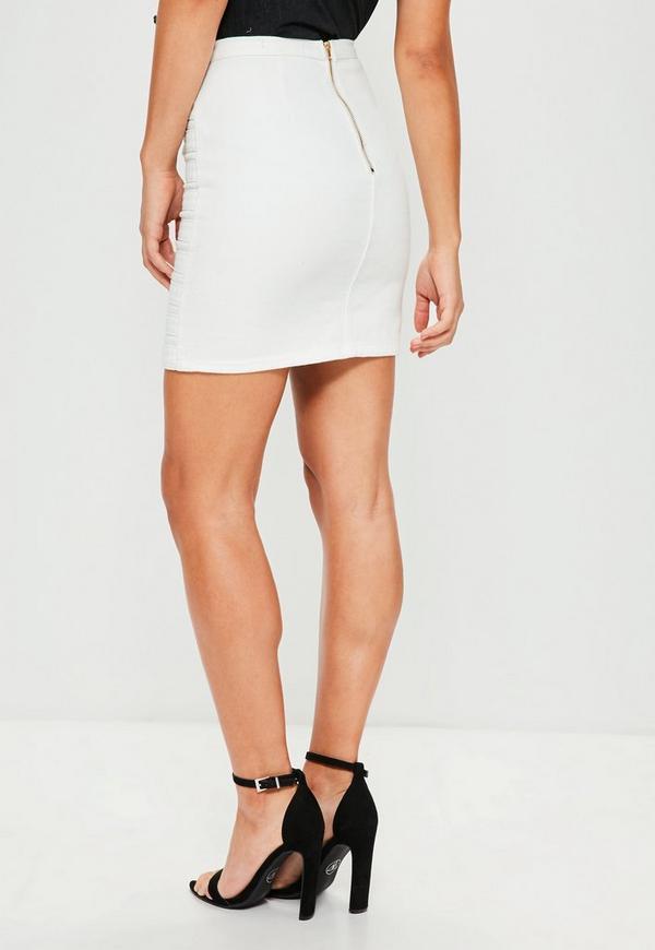 Belted Mini Skirt 63