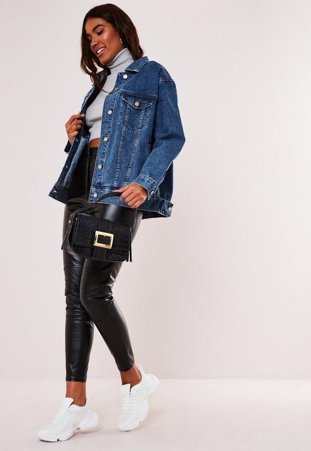 Missguided - Oversized Denim Jacket - 2