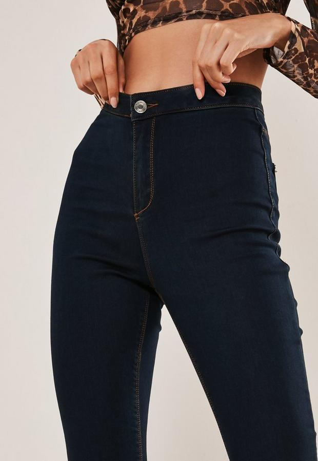 Missguided - High Waisted Skinny Jeans - 2