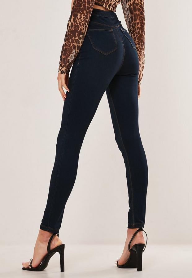 Missguided - High Waisted Skinny Jeans - 4