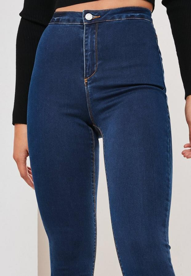Missguided - High Waisted Skinny Jeans - 3