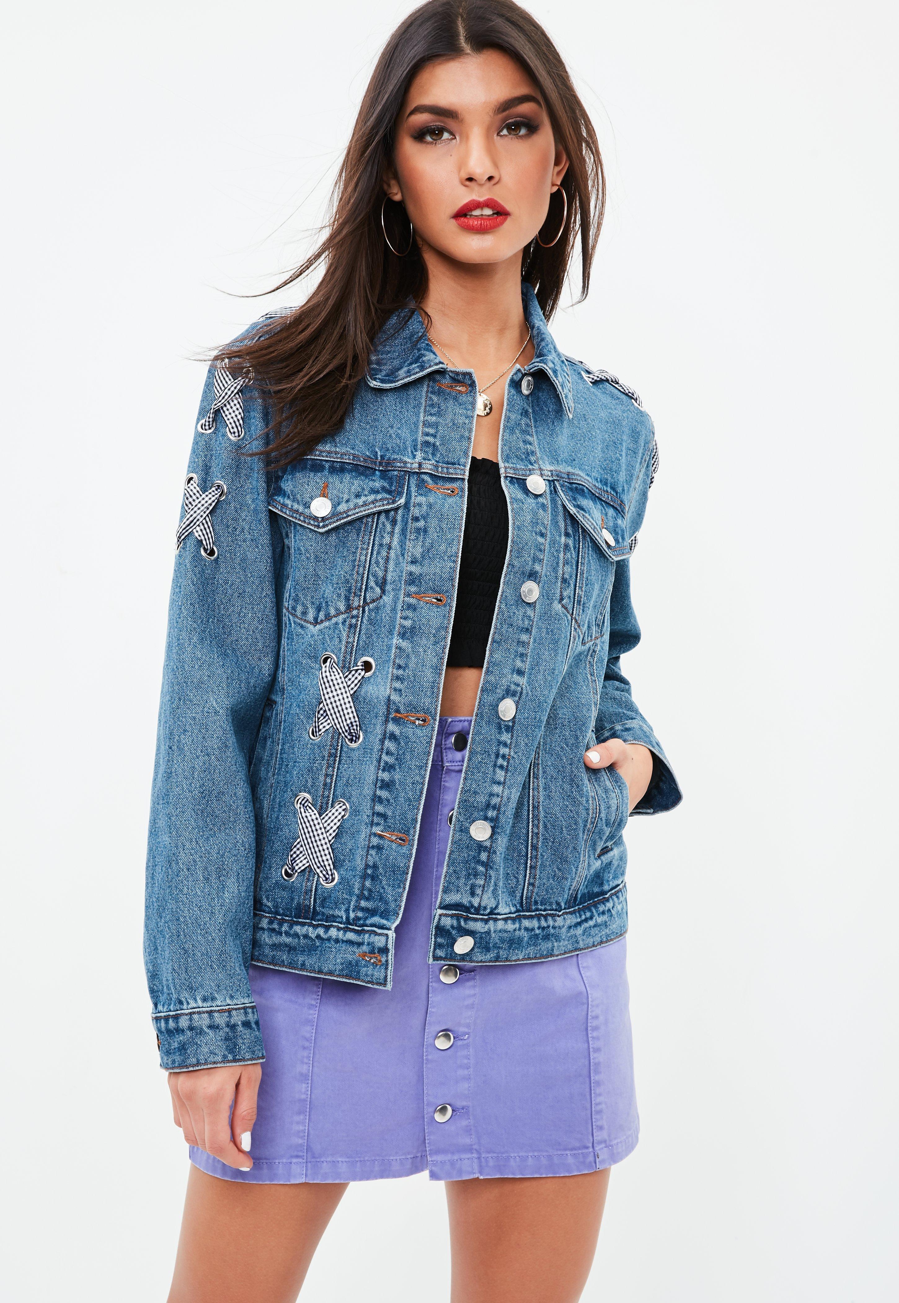 Women\'s Denim Jackets - Jean Jackets Online   Missguided
