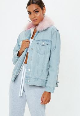 Denim Jackets Oversized Denim Jackets For Women Missguided