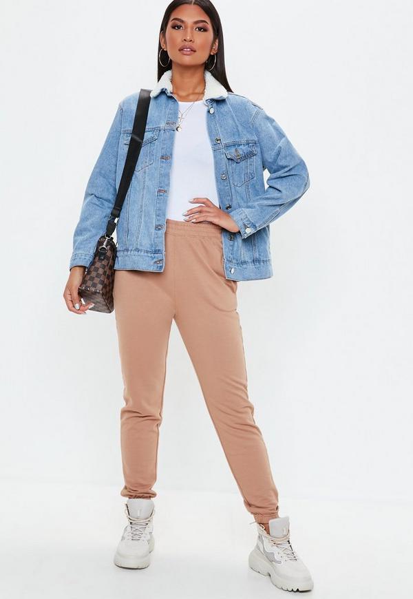 Veste en jean claire