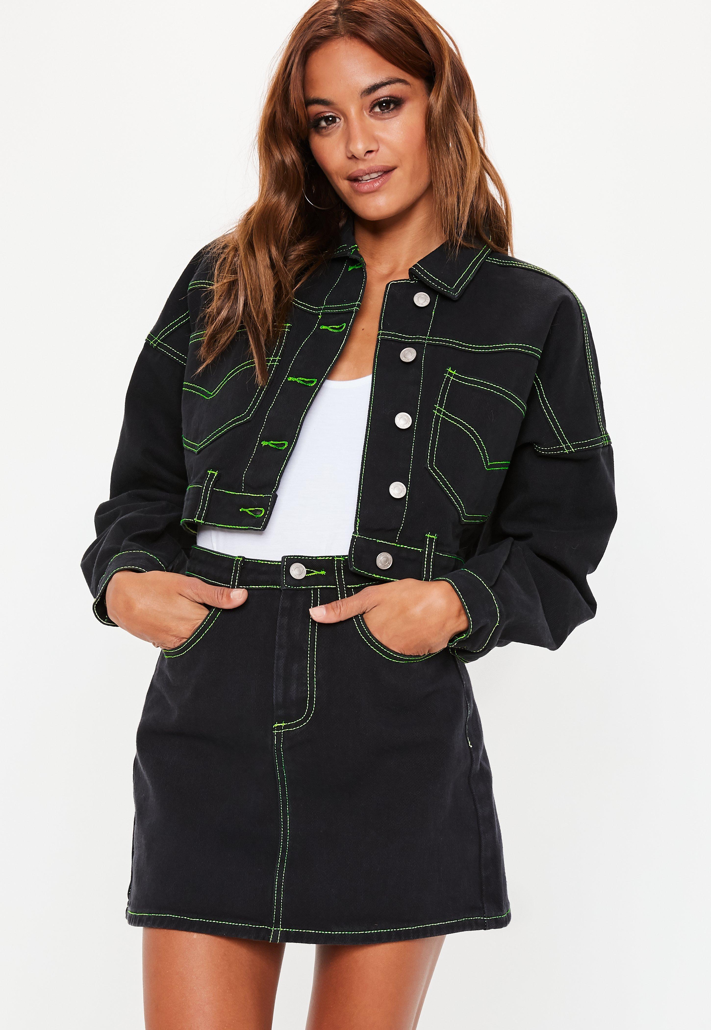 Manteau Pour Veste Ligne En Femme 8s4x46 Missguided USpVzMqG