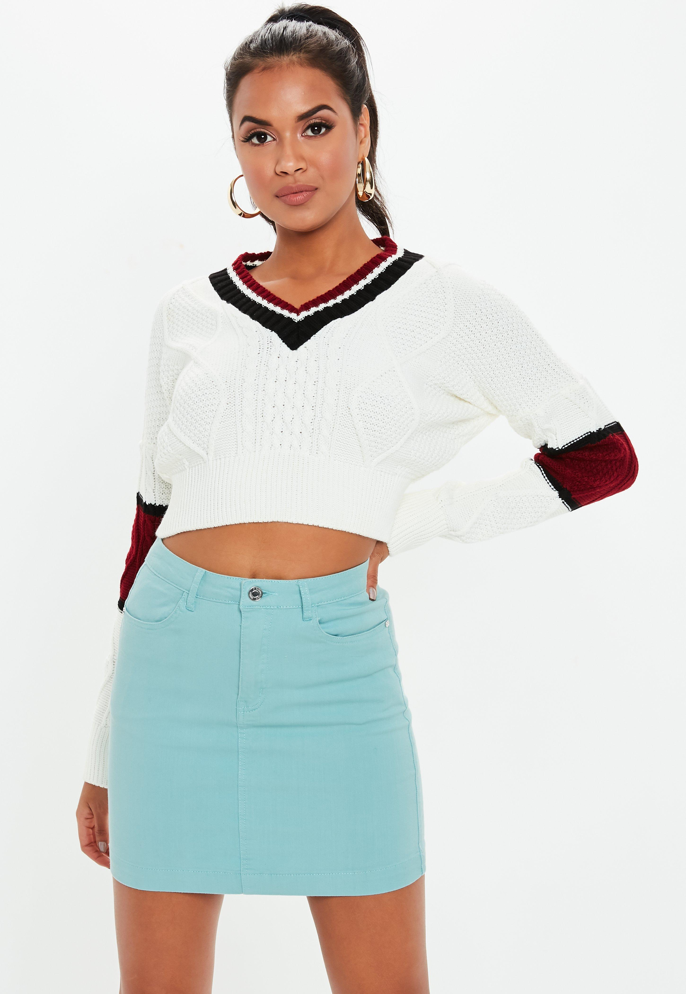 Fashion week Trend the shop the v front skirt for woman