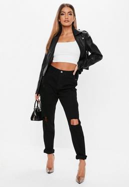 c4f0586fde8 Jeans - High Waisted Jeans - Women s Jeans - Missguided