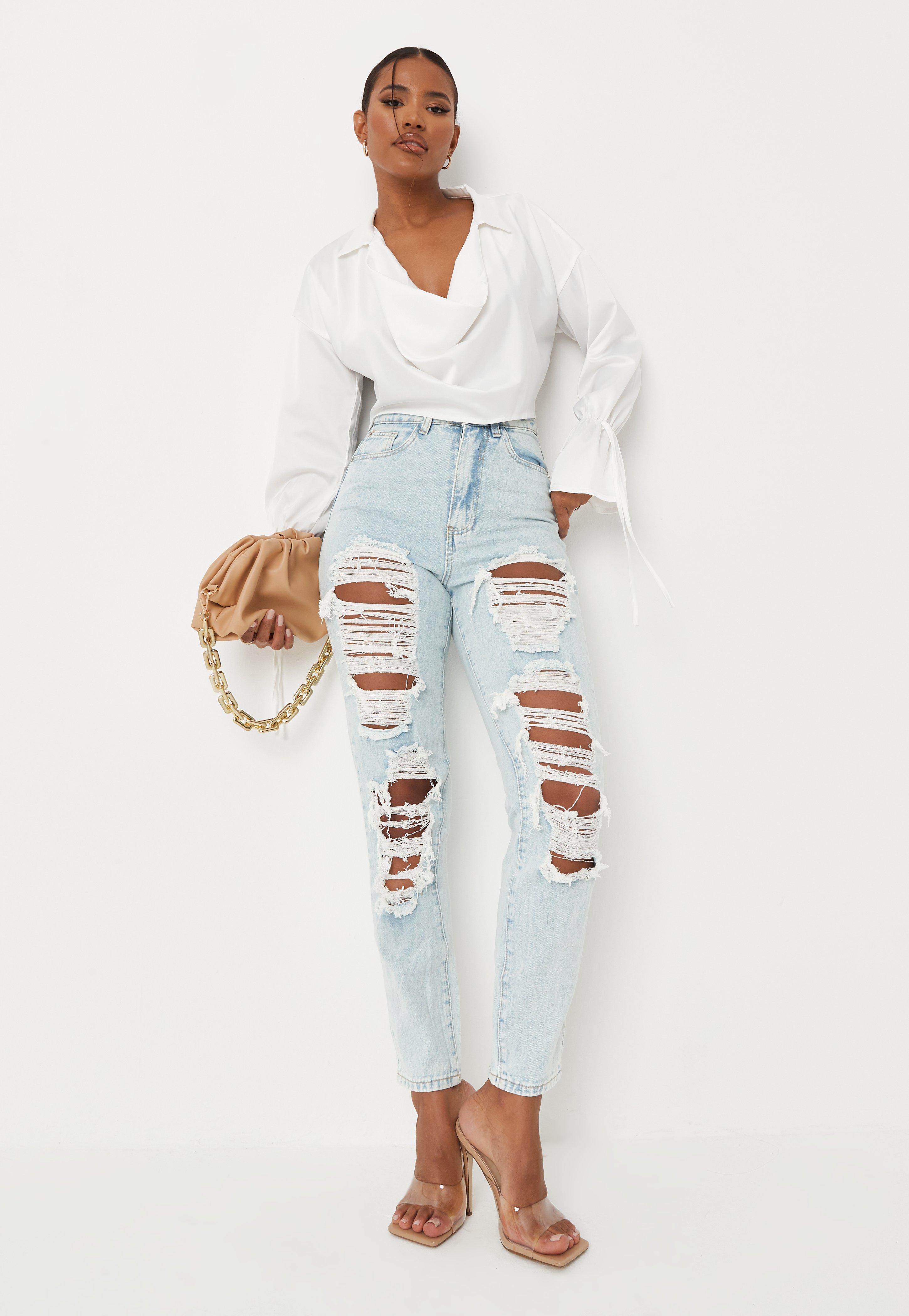 26059947537 Denim Clothes & Womens Denim Clothing - Missguided