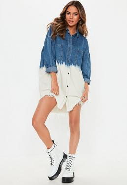 44d761a3f Shirt Dresses | Long & Short Sleeve Shirt Dresses - Missguided