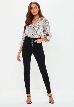 03a42e7ac37 Black High Waisted Jeans · Black Skinny Jeans