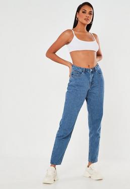 c373eb9c601 ... Blue Riot High Waisted Rigid Mom Jeans