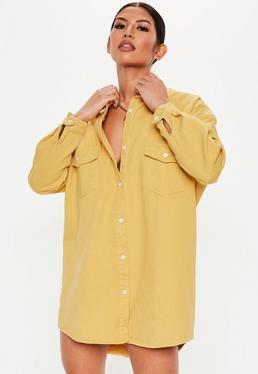 e6a74be63a Oversized Shirt Dresses