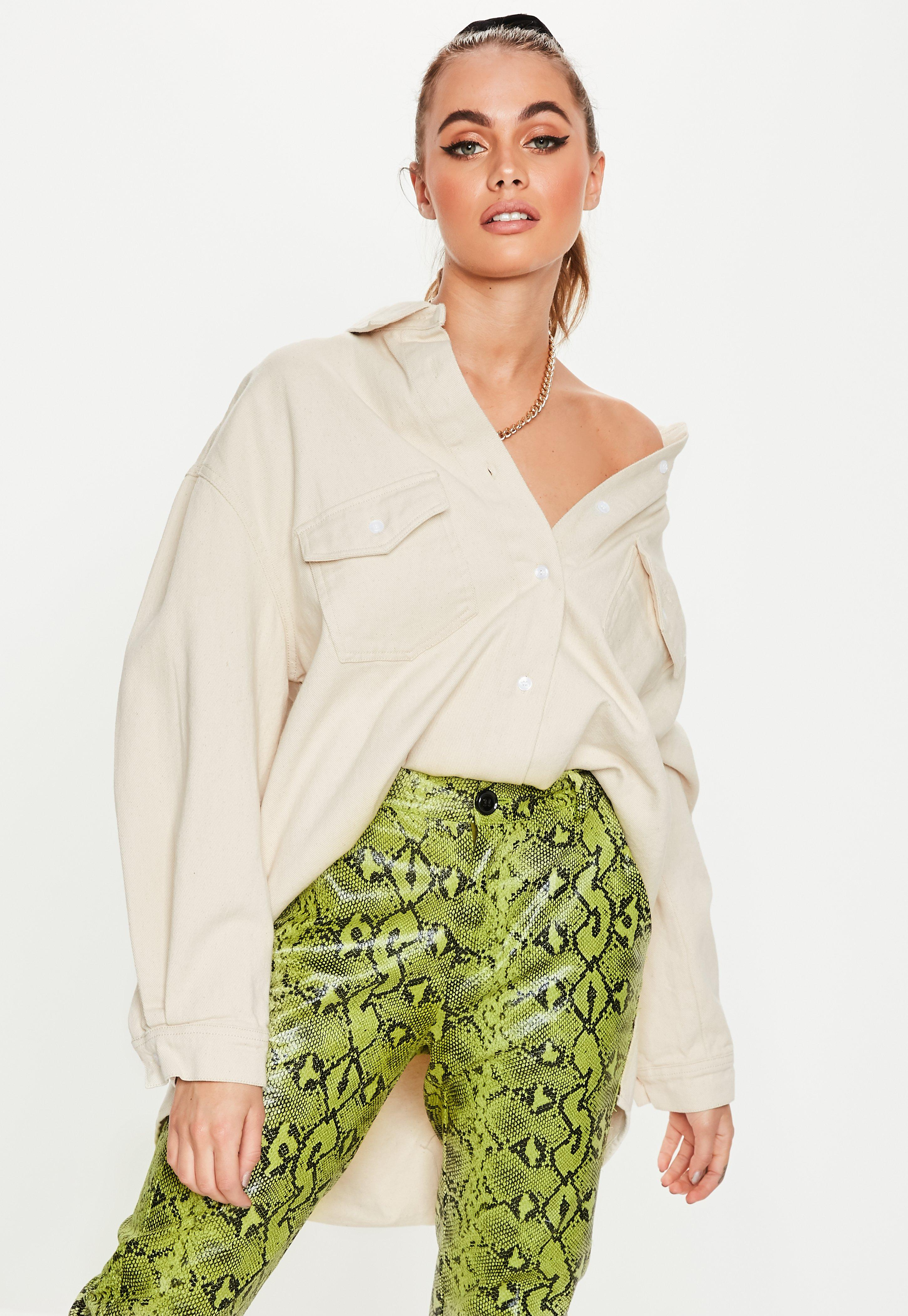 1f2b05456 Oversized Tops, Women's Loose Tops | Missguided