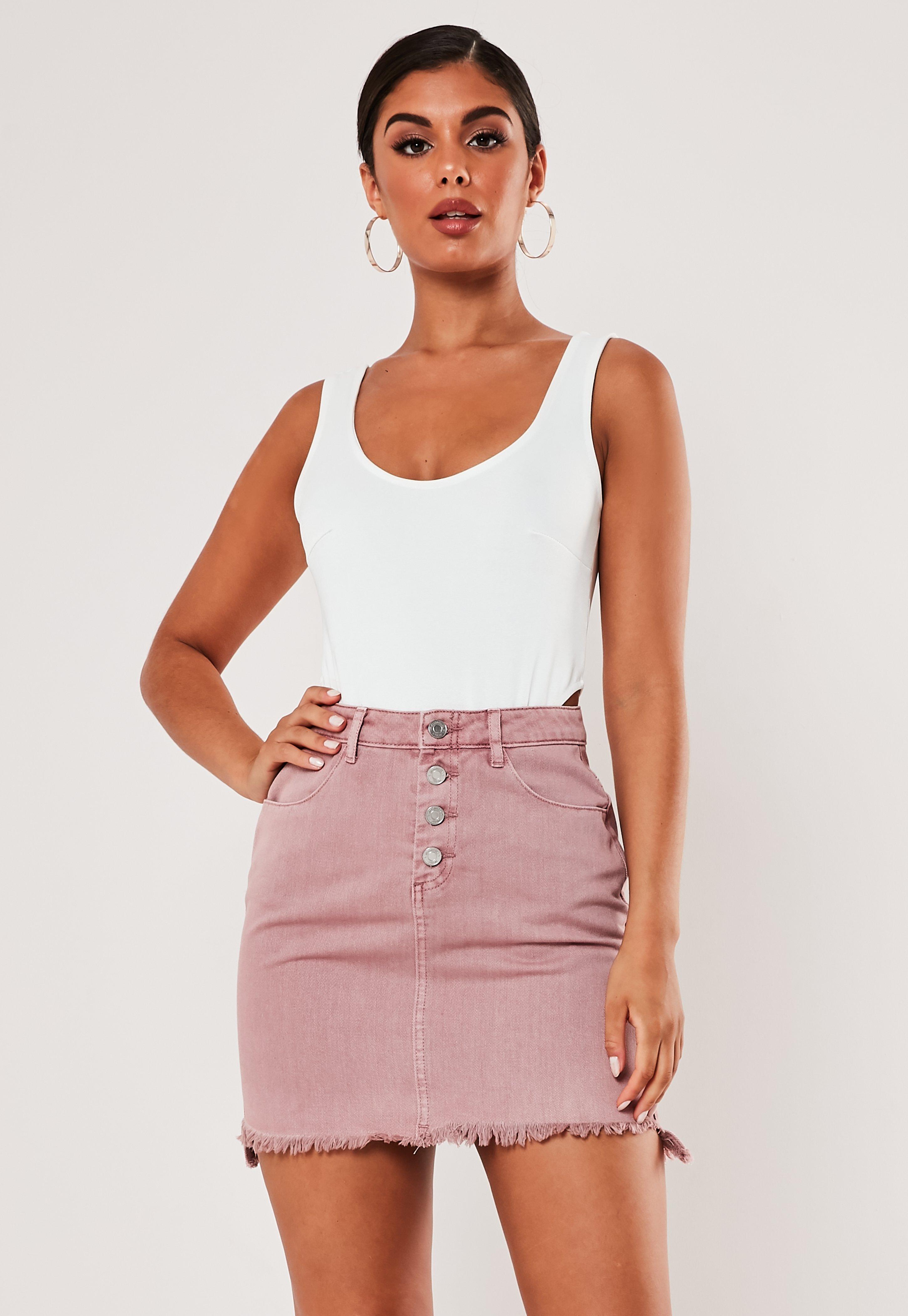 ec35ed9d49 Denim Skirts | Mini & Midi Jean Skirts - Missguided