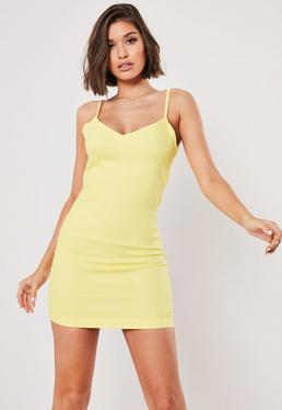 60b80611 Slip Dresses | Shop Cami Dresses - Missguided