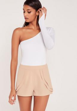 Carli Bybel Pleated Shorts Pink