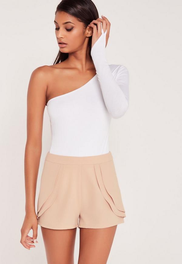 Carli Bybel Pleated Shorts Pink
