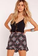 Floral Print Floaty Shorts Multi