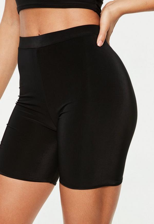 Black Bottoms Bike Shorts