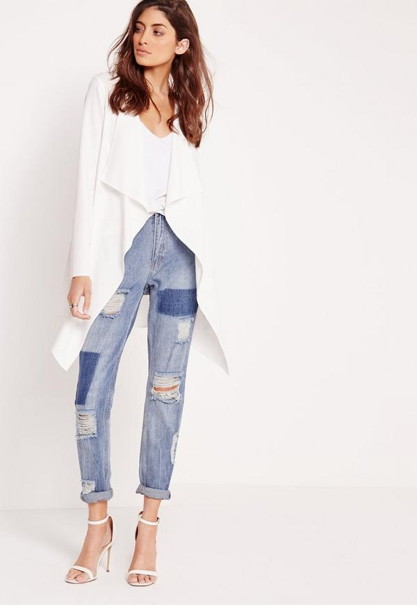 Buy ol style long sleeve pocket design off-white women's waterfall blazer in off-white xs for $ from mundo-halflife.tk A wholesale clothing supplier Who specializes offering customers best Quality of clothing with a relatively lower price by connection them directly with the clothing factory.